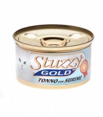 STUZZY GOLD Тунец с Крабовыми палочками в собственном соку