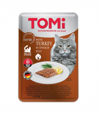 TOMi GF c индейкой в желе из шпината