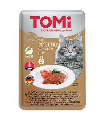 TOMi GF c птицей в томатном желе