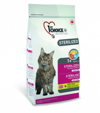 1st Choice «Sterilized», 2,4 кг