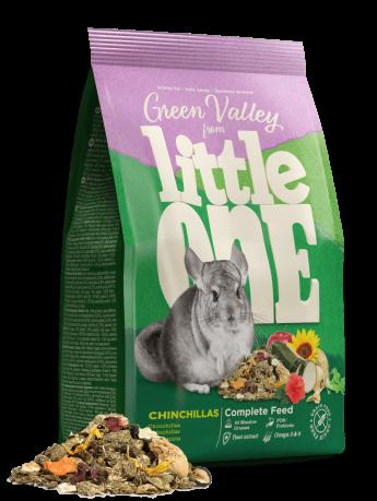 """Little One корм для шиншилл """"Зеленая долина"""" 750 гр"""