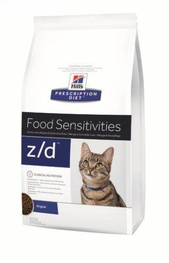 Hill's z/d Feline, 2 кг