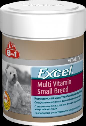 Эксель Мультивитамины для собак мелких пород
