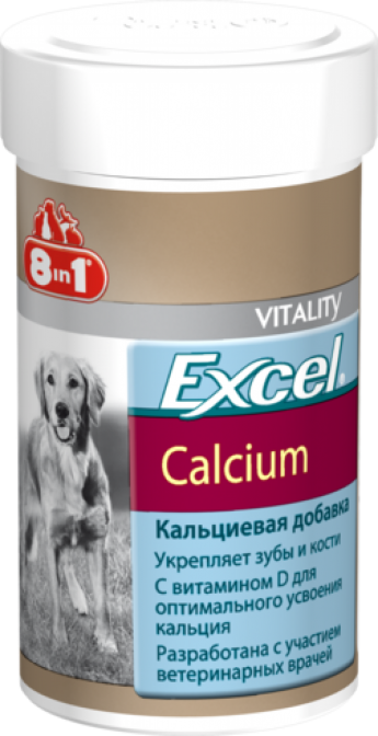 Эксель Кальций, для собак