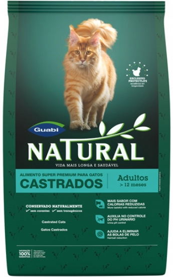 Guabi Natural для кастрированных кошек, 1,5 кг