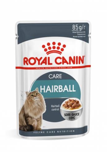 Royal Canin HAIRBALL CARE (В СОУСЕ)