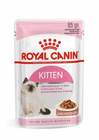 Royal Canin KITTEN INSTINCTIVE(в соусе)