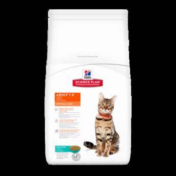 Hill's Feline Adult Optimal Care, 400 гр