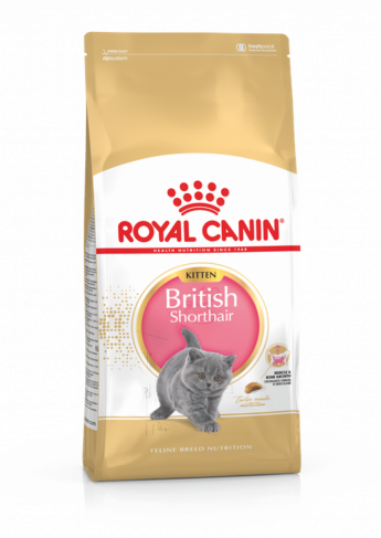 Royal Canin BRITISH SHORTHAIR KITTEN, 400 гр