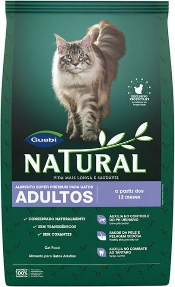Guabi Natural для взрослых кошек, 1,5 кг