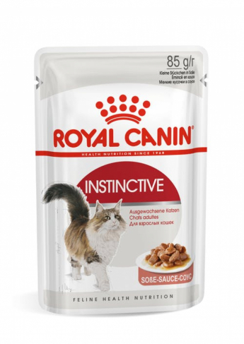 Royal Canin INSTINCTIVE (В СОУСЕ)