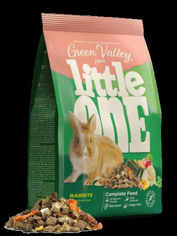 """Little One корм для кроликов """"Зеленая долина"""" 750 гр"""