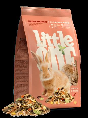 Little One корм для молодых кроликов, 900 гр