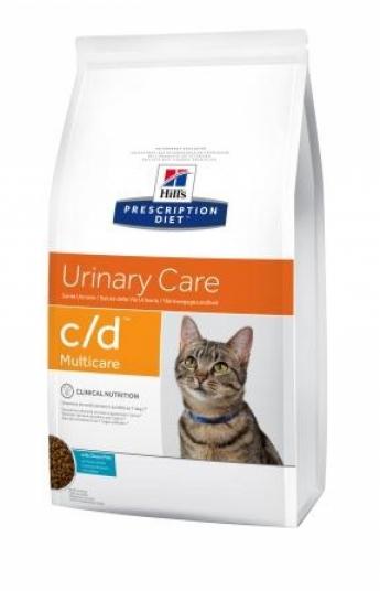 Hill's c/d Multicare Feline with Ocean Fish, 1,5 кг