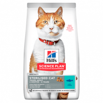 Hill's Feline Sterilised Cat Young Adult, 300 гр