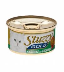STUZZY GOLD Сардины с Кальмарами в собственном соку