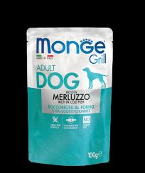 Monge GRILL POUCH MERLUZZO, 100 гр