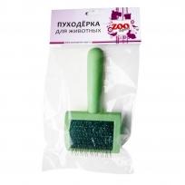 Пуходерка пластмассовая малая с каплей, арт. 23072