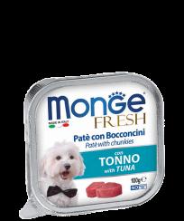 Monge PATE e BOCCONCINI con TONNO, 100 гр