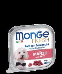 Monge PATE e BOCCONCINI con MANZO, 100 гр