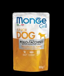 Monge GRILL POUCH POLLO e TACCHINO, 100 гр