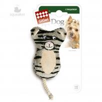 GiGwi 75024 Кот с пищалкой