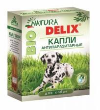 Natura Delix Bio Капли антипаразитарные для собак