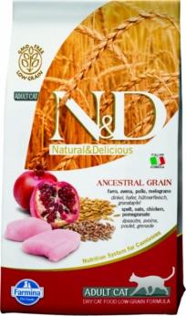 Farmina N&D Low Grain Cat Chicken & Pomegranate