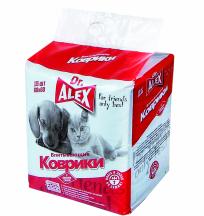 Пеленки впитывающие Dr.Alex 60*45 см, упаковка 15 шт